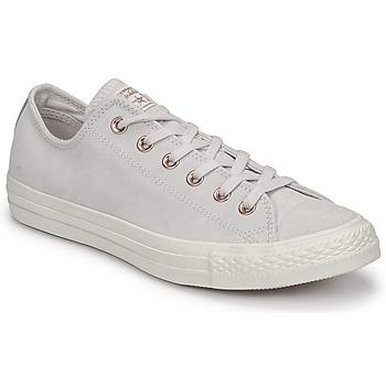 Cipők Női Rövid szárú edzőcipők Converse Chuck Taylor All Star-Ox Rózsaszín / Fehér