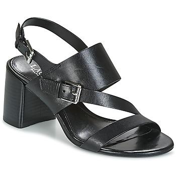 Cipők Női Szandálok / Saruk Ralph Lauren FLORIN Fekete