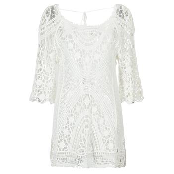 Ruhák Női Rövid ruhák Banana Moon MAGBY DREAMLAND Fehér