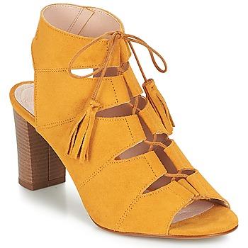 Cipők Női Szandálok / Saruk Betty London EVENE Citromsárga