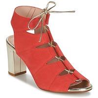 Cipők Női Szandálok / Saruk Betty London INALU Piros
