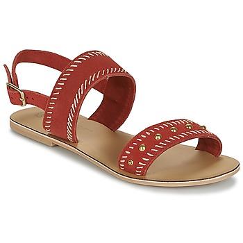 Cipők Női Szandálok / Saruk Betty London IKARI Piros