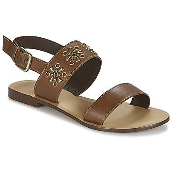 Cipők Női Szandálok / Saruk Betty London IKIMI Barna