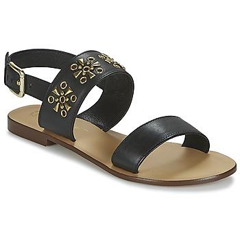 Cipők Női Szandálok / Saruk Betty London IKIMI Fekete