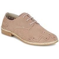 Cipők Női Oxford cipők Betty London IKATA Rózsaszín