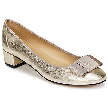 Cipők Női Balerina cipők / babák Betty London IRAFONE Arany