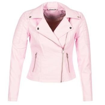 Ruhák Női Bőrkabátok Noisy May NMREBEL Rózsaszín