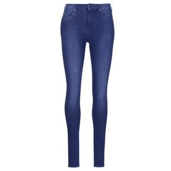 Ruhák Női Skinny farmerek Pepe jeans REGENT Kék / Ce2 / Kristályos / Swarorsky
