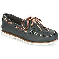 Cipők Férfi Vitorlás cipők Timberland CLASSIC 2 EYE Kék