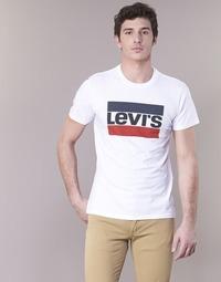 Ruhák Férfi Rövid ujjú pólók Levi's GRAPHIC SPORTSWEAR LOGO Fehér / Kék / Piros