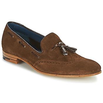 Cipők Férfi Mokkaszínek Barker RAY Barna