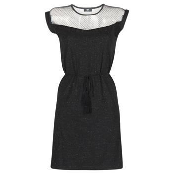 Ruhák Női Rövid ruhák Le Temps des Cerises JURIETO Fekete