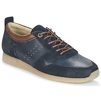 Cipők Férfi Rövid szárú edzőcipők Kickers OLYMPEI Tengerész