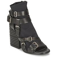 Cipők Női Bokacsizmák Strategia BUGNARA Fekete