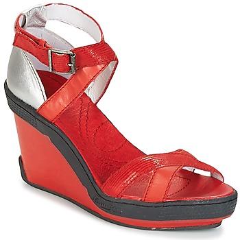 Cipők Női Szandálok / Saruk Pataugas GOUY Piros