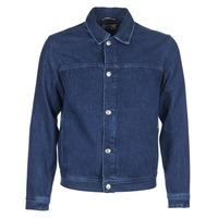 Ruhák Férfi Farmerkabátok Tommy Jeans TJM STREET TRUCKER JKT Kék / Átlagos