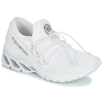 Cipők Női Rövid szárú edzőcipők Philipp Plein Sport KRISTEL Fehér