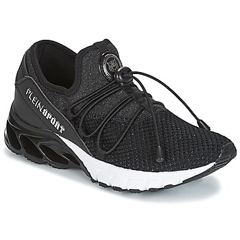 Cipők Női Rövid szárú edzőcipők Philipp Plein Sport KRISTEL Fekete