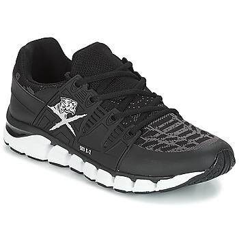 Cipők Férfi Rövid szárú edzőcipők Philipp Plein Sport SUNSHINE IS RISING UP Fekete