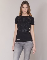Ruhák Női Rövid ujjú pólók Philipp Plein Sport FORMA LINEA Fekete