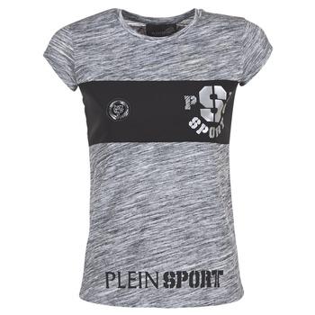 Ruhák Női Rövid ujjú pólók Philipp Plein Sport THINK WHAT U WANT Szürke