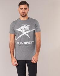 Ruhák Férfi Rövid ujjú pólók Philipp Plein Sport BORIS Szürke / Ezüst
