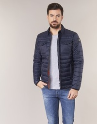 Ruhák Férfi Steppelt kabátok Schott NIELS Tengerész