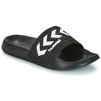 Cipők strandpapucsok Hummel LARSEN SLIPPPER Fekete