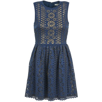 Ruhák Női Rövid ruhák Manoush NEOPRENE Kék / Arany