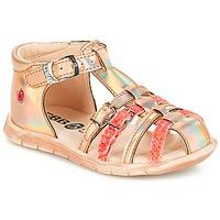 Cipők Lány Rövid szárú edzőcipők GBB PERLE Tts / Rózsaszín / Metál-fluo / Dpf / Nemo