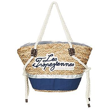 Táskák Női Bevásárló szatyrok / Bevásárló táskák Les Tropéziennes par M Belarbi AUDENGE Bézs / Tengerész