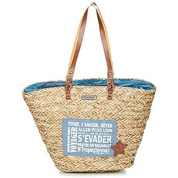Táskák Női Bevásárló szatyrok / Bevásárló táskák Les Tropéziennes par M Belarbi AGAY Bézs / Kék