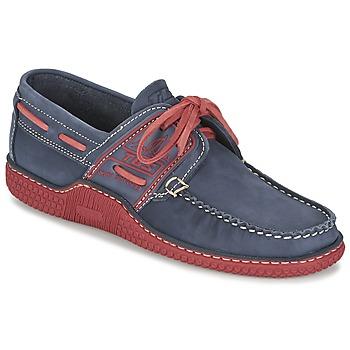 Shoes Férfi Vitorlás cipők TBS GLOBEK Kék / Piros