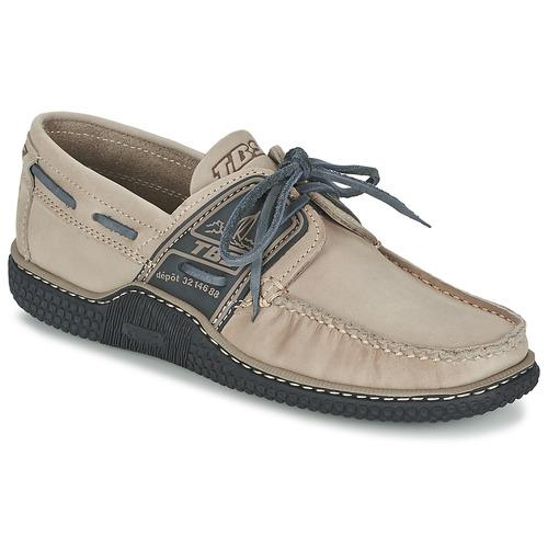 Cipők Férfi Vitorlás cipők TBS GLOBEK Bézs