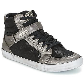 Shoes Női Magas szárú edzőcipők Kaporal SNATCHY Fekete