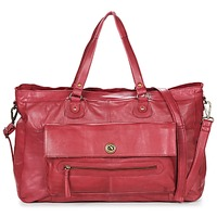 Táskák Női Válltáskák Pieces TOTALLY ROYAL LEATHER TRAVEL BAG Bordó