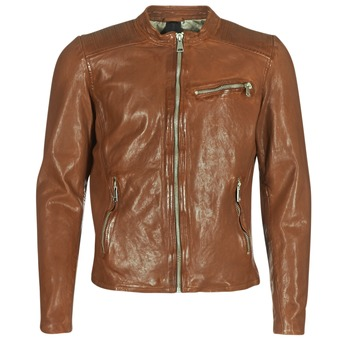 Ruhák Férfi Bőrkabátok / műbőr kabátok Redskins CROSS Konyak