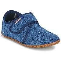 Cipők Gyerek Mamuszok Giesswein SENSCHEID Kék
