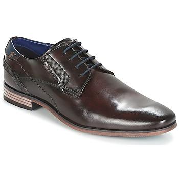 Cipők Férfi Oxford cipők Bugatti Refito Sötét / Barna