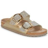 Cipők Női Papucsok Birkenstock ARIZONA BIG BUCKLE Arany