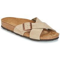 Cipők Női Papucsok Birkenstock SIENA Tópszínű