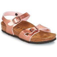 Cipők Lány Szandálok / Saruk Birkenstock RIO Rózsaszín