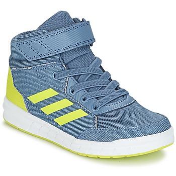Cipők Fiú Magas szárú edzőcipők adidas Performance ALTASPORT MID EL K Kék