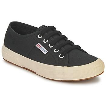 Cipők Rövid szárú edzőcipők Superga 2750 CLASSIC Fekete