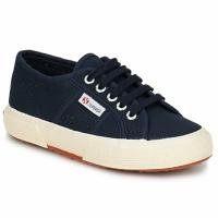 Shoes Gyerek Rövid szárú edzőcipők Superga 2750 KIDS Tengerész