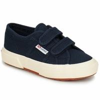 Cipők Gyerek Rövid szárú edzőcipők Superga 2750 STRAP Tengerész
