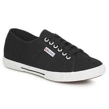 Shoes Rövid szárú edzőcipők Superga 2950 COTU Fekete