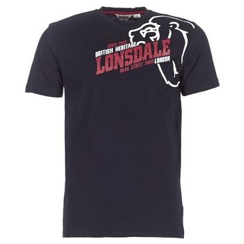 Ruhák Férfi Rövid ujjú pólók Lonsdale WALKLEY Fekete