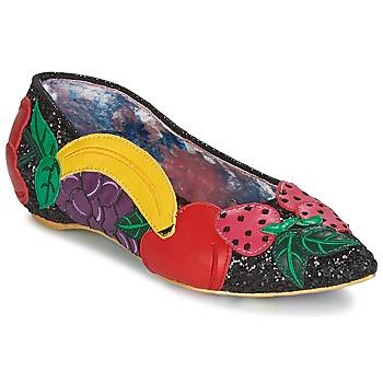 Cipők Női Balerina cipők  Irregular Choice BANANA BOAT Fekete