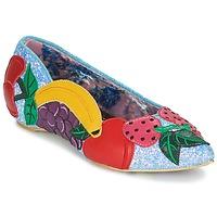 Cipők Női Balerina cipők / babák Irregular Choice BANANA BOAT Kék